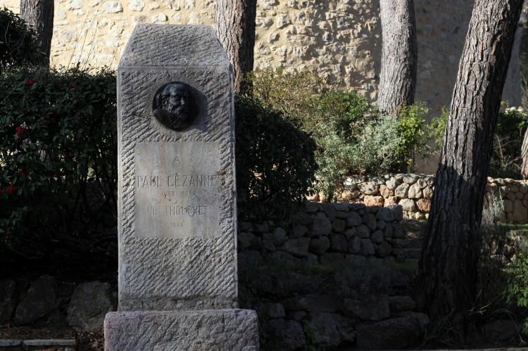 Stèle Cézanne