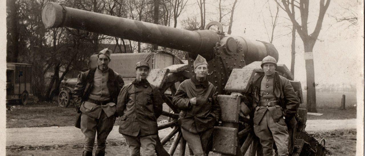 Jean Bourrillon, un artilleur en 14-18