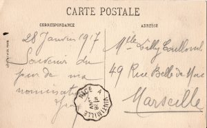 lettre de Jean Bourrillon à Lilly