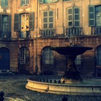 Places et fontaines d'Aix-en-Provence