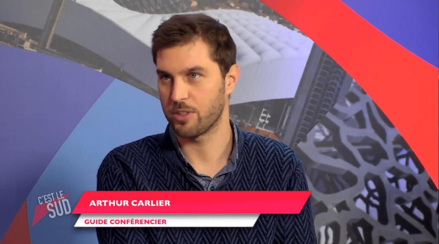 Arthur Carlier guide-conférencier