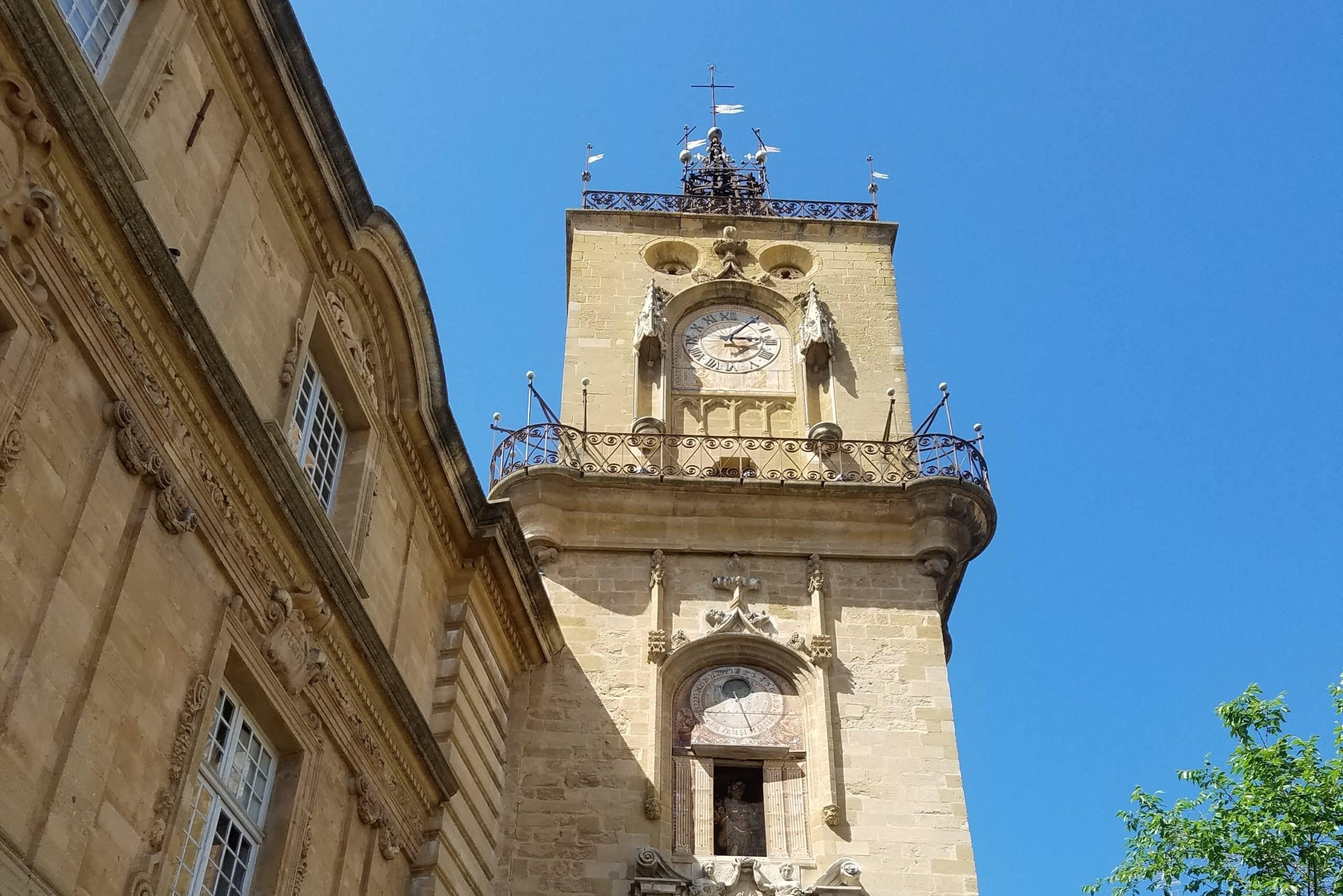 Tour de l'Horloge - Aix